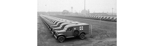 dodge ambulance  wc54