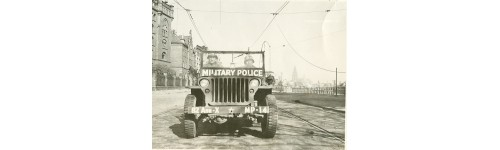 Jeep military police